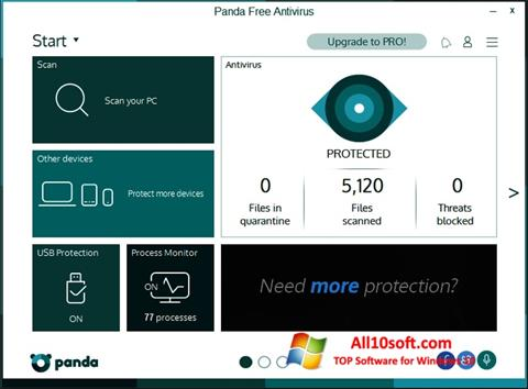 Skærmbillede Panda Windows 10