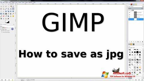 Skærmbillede GIMP Windows 10