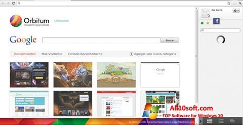 Skærmbillede Orbitum Windows 10