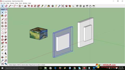Skærmbillede SketchUp Make Windows 10