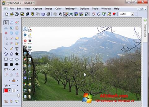 Skærmbillede HyperSnap Windows 10