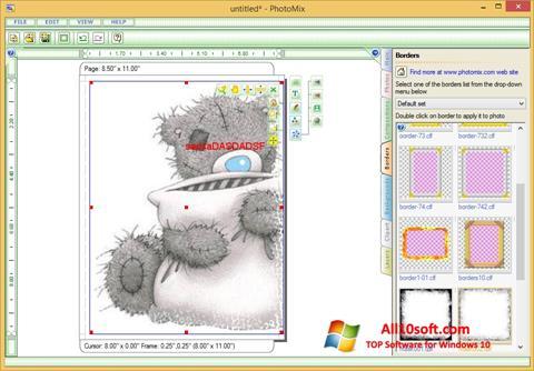 Skærmbillede PhotoMix Collage Windows 10
