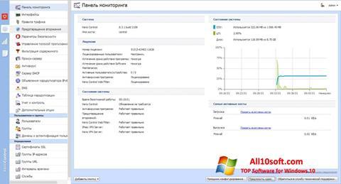 Skærmbillede Kerio Control Windows 10