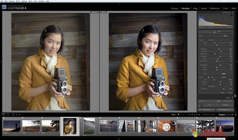 Skærmbillede Adobe Photoshop Lightroom Windows 10