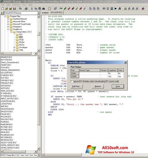 Skærmbillede Stamp Windows 10