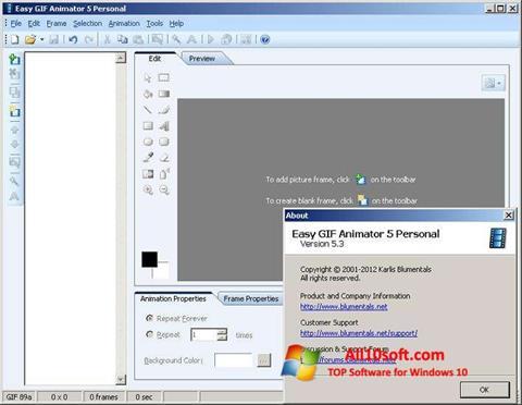 Skærmbillede Easy GIF Animator Windows 10