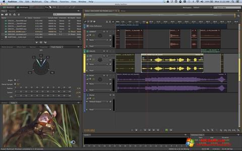 Skærmbillede Adobe Audition Windows 10