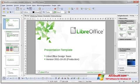 Skærmbillede LibreOffice Windows 10