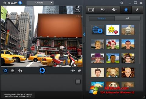 Skærmbillede CyberLink YouCam Windows 10
