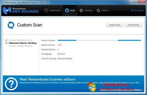 Skærmbillede Malwarebytes Anti-Malware Free Windows 10