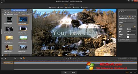 Skærmbillede Pinnacle Studio Windows 10