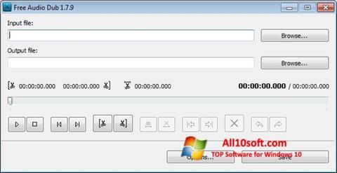 Skærmbillede Free Audio Dub Windows 10