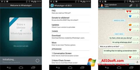Skærmbillede WhatsApp Plus Windows 10
